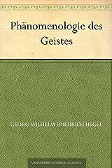 Phänomenologie des Geistes (German Edition) eBook Kindle