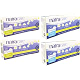 Natracare Organic Cotton Tampons (Super and Regular Variety Pack of 80)