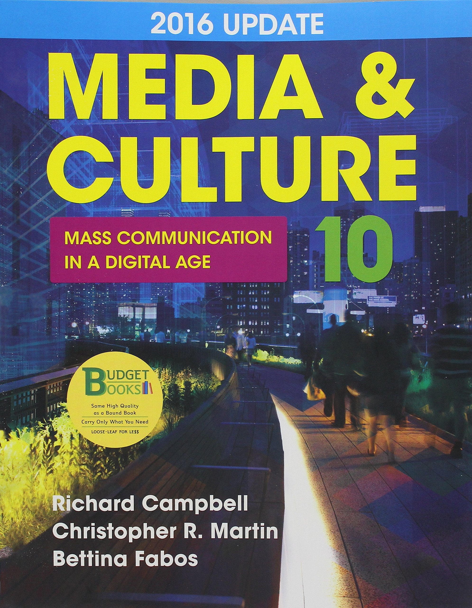 Buy Media & Culture 2016: Mass Communication in a Digital Age Book Online  at Low Prices in India | Media & Culture 2016: Mass Communication in a Digital  Age ...