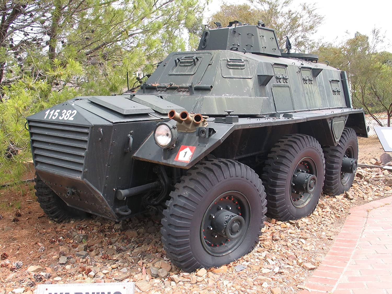 Alvis FV603 Saracen APC in Royal Australian Armoured Corps