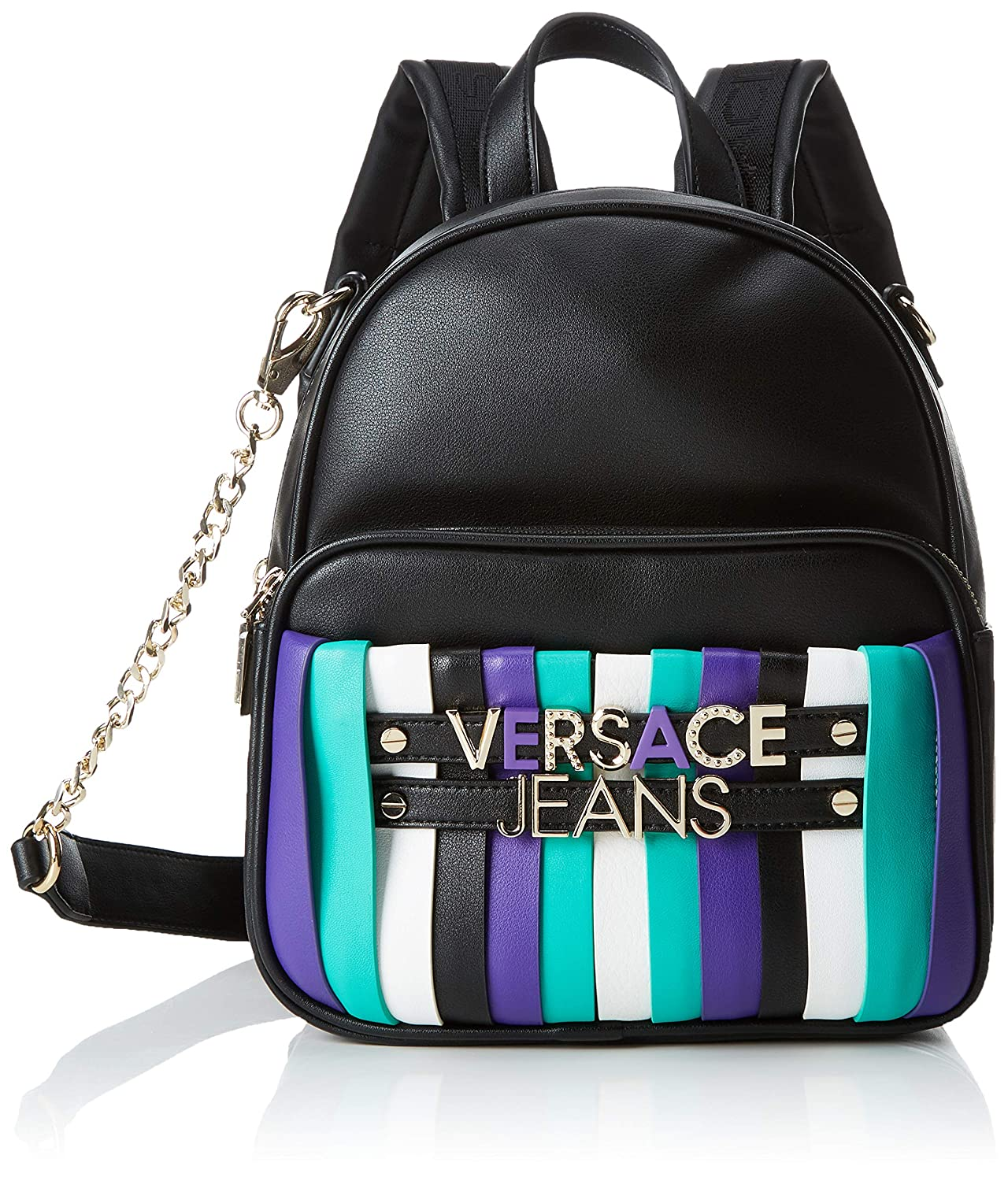 VERSACE JEANS woman backpack E1VTBBL4 UNICA Nero