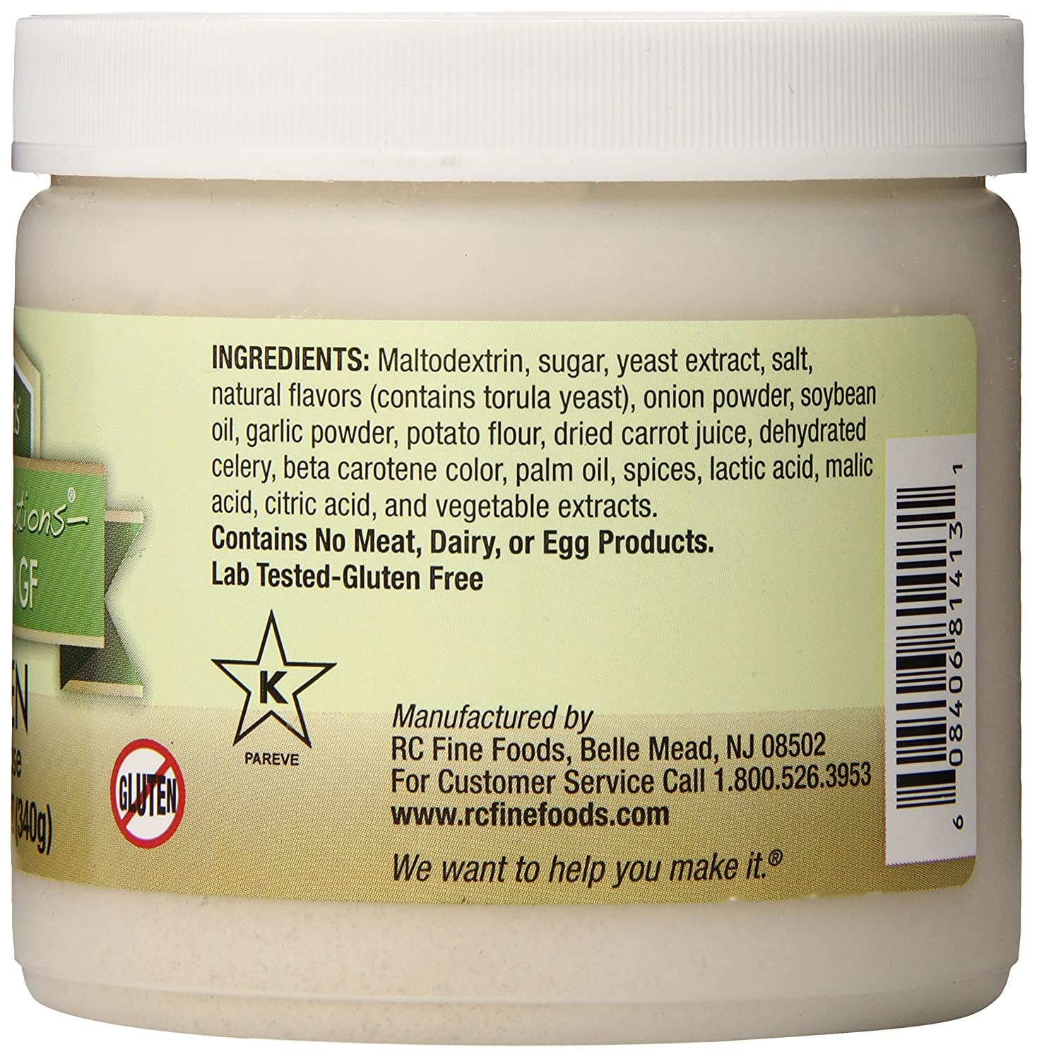 Rc Fine Foods Healthy Foundations Low Sodium Gluten Free Base