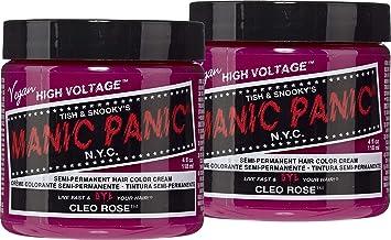 Amazon Com Manic Panic Cleo Rose Red Hair Color Cream 2 Pack