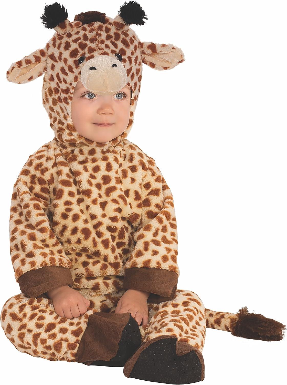 Rubies 510561-T - Disfraz infantil de jirafa para niño, 1-2 años ...