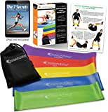 Resistance Bands by SmarterLife | 5 Extra Wide Exercise Bands for Comfort | Latex Free, Anti-Snap Resistance Band Material | Best Exercise Band for Workouts, Resistance Training, and Physical Therapy