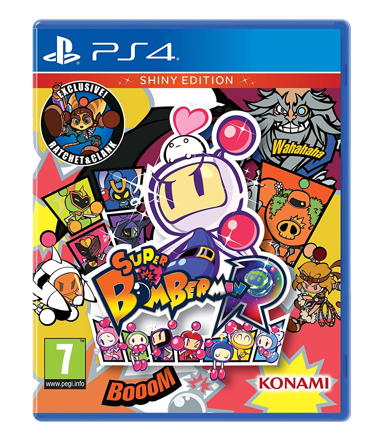 Super Bomberman R Shiny Edition Ps4 Pc Video Games Nintendo Switch Us