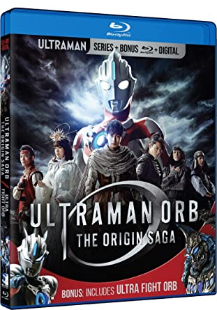 Ultraman Orb: Origin Saga and Ultra Fight Orb [Blu-ray]