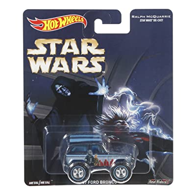 Hot Wheels Star Wars 67 Ford Bronco Vehicle: Toys & Games
