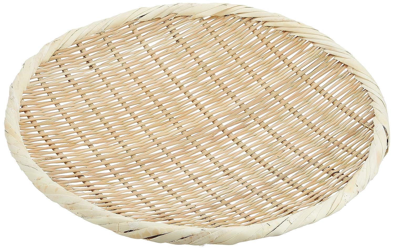Bamboo Round Zaru Basket/Colander for Soba, Udon and Noodles (30cm, Japan)