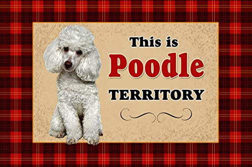 Novelty Dog Territory Mat, 18 by 27-Inch, Schnauzer