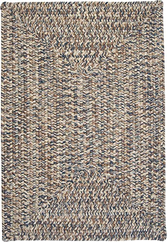 Corsica Rectangle Area Rug, 12 by 15-Feet, Lake Blue