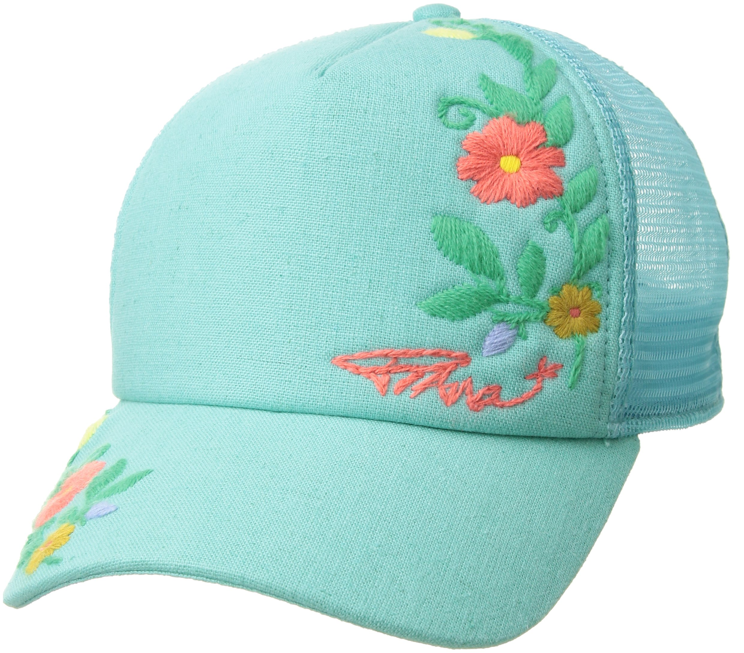 prAna Embroidered Trucker, Succulent Green, One Size by prAna (Image #1)