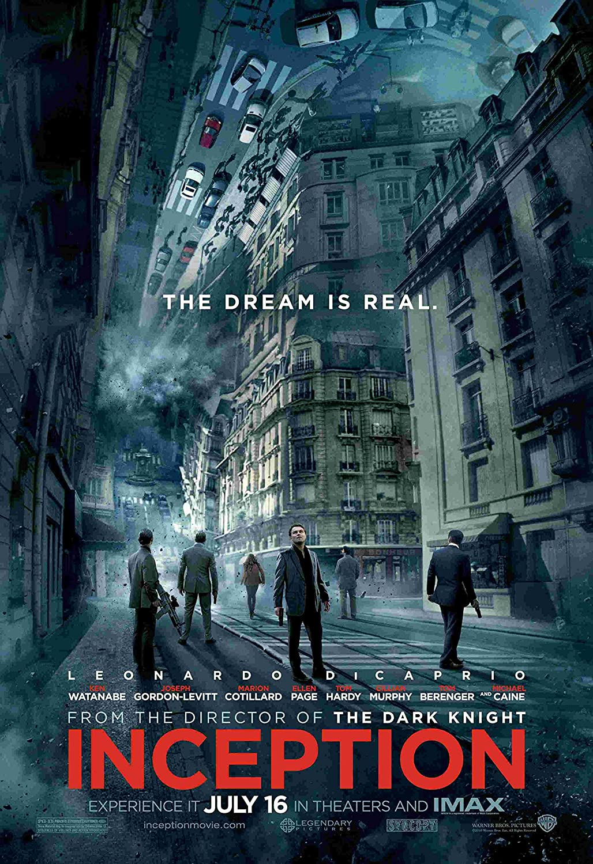 Inception Dream Minimalist Movie Poster Inception Film poster INCEPTION Movie Poster