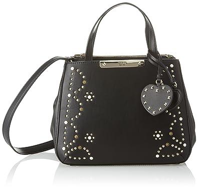 33febc978b Guess Bags Hobo, Sacs bandoulière femme, Noir (Black), 12x22.5x28.5 ...