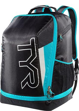 TYR Apex Transition Backpack Triathlon Bag - Black Blue  Amazon.co ... c1970a736dfe0