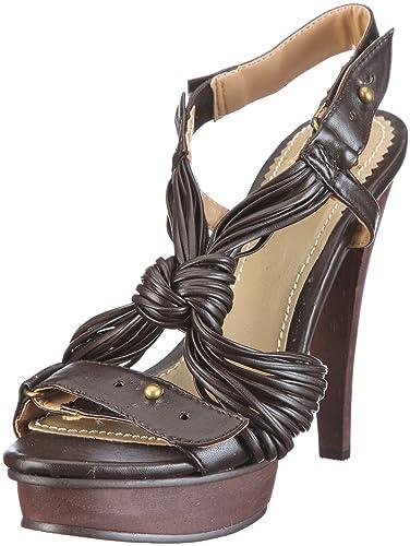 size 40 c76e2 8622d Daniel Hechter Damen Havanna Fashion-Sandalen