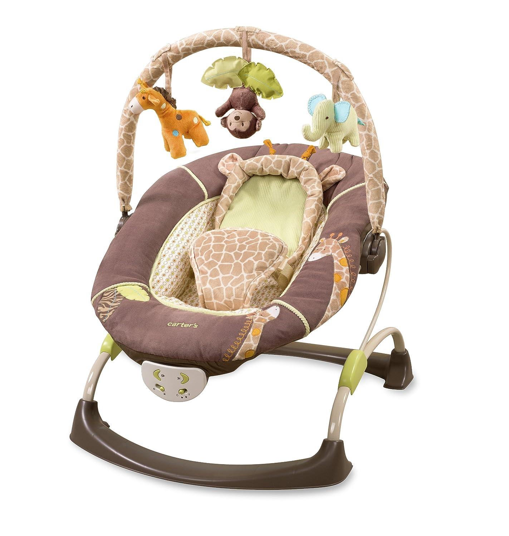Summer Infant Carter s Wildlife Cuddle Me Musical Bouncer Brown