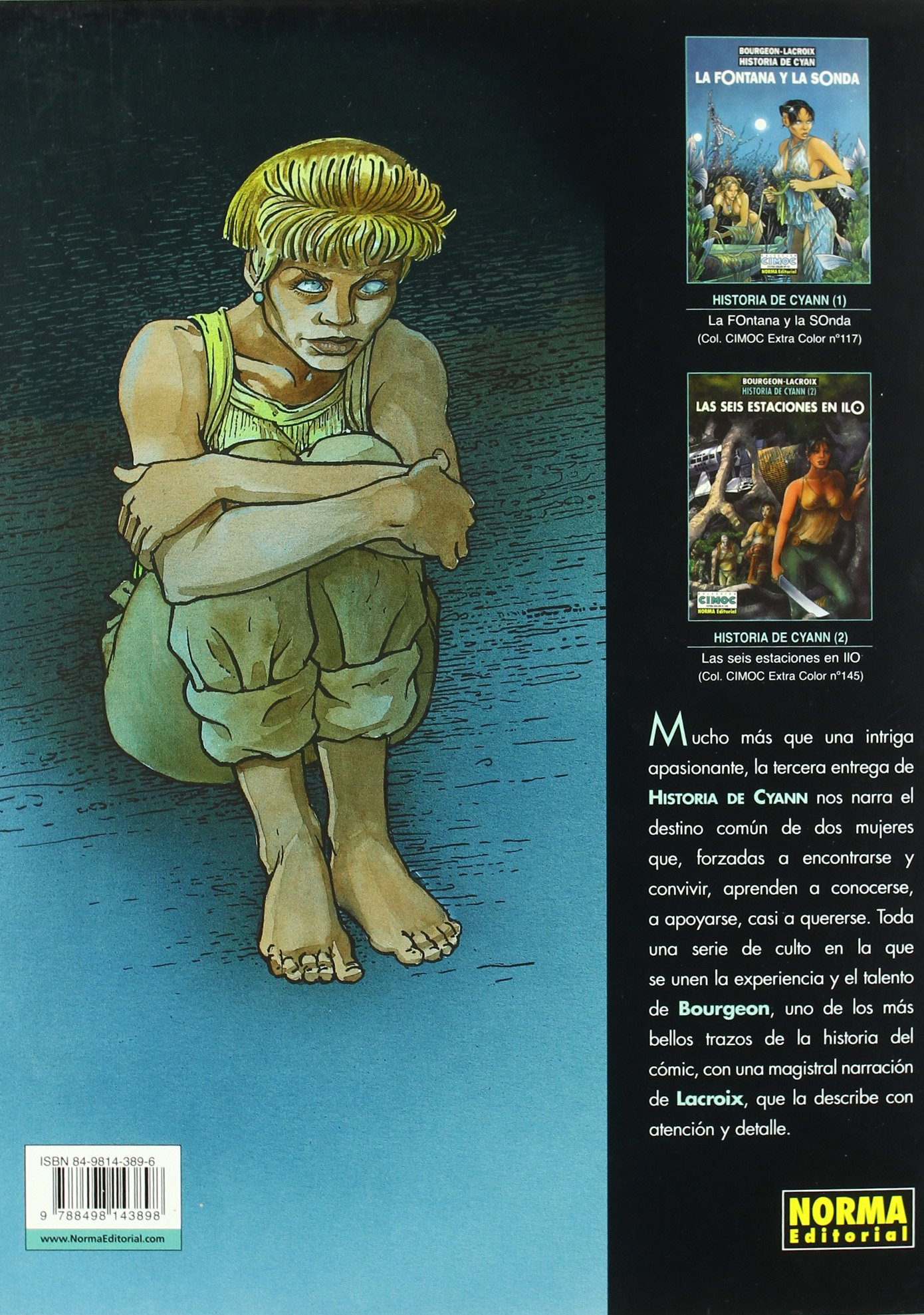 HISTORIA DE CYANN 03 AIEIA DE ALDAAL BOU
