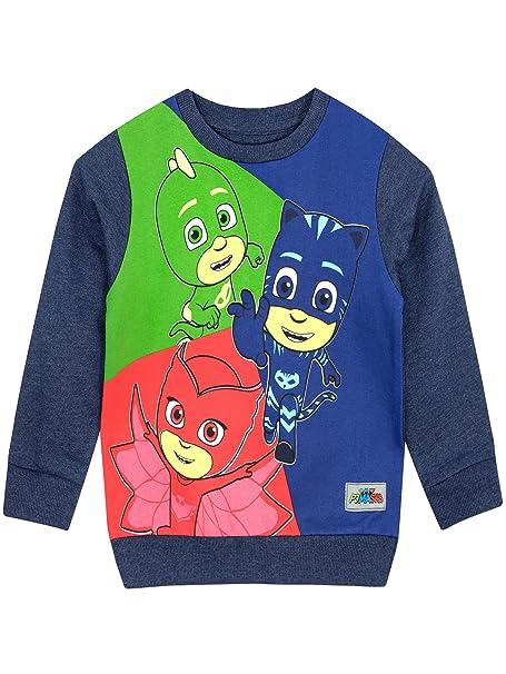 PJ Masks - Suéter para Niños - Catboy Owlette Gekko - 3 - 4 Años