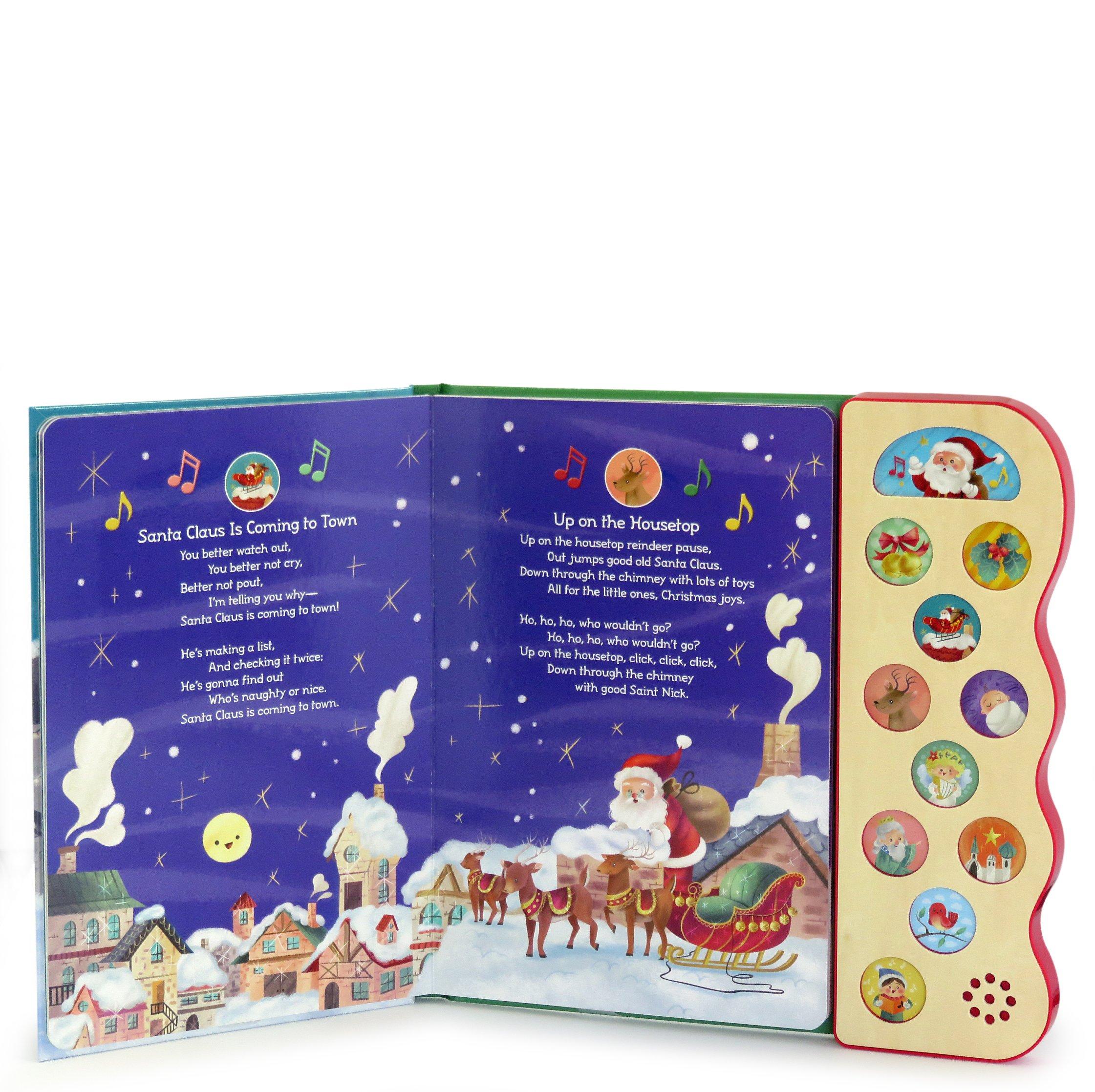 Christmas Songs: Interactive Children's Sound Book (10 Button Sound)