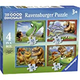 Ravensburger 07143 - Il Viaggio di Arlo The Good Dinosaur Puzzle 4 in a Box