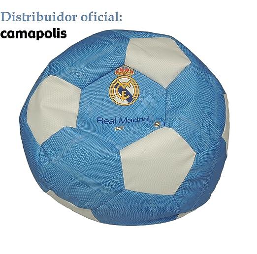 SEASONS Camapolis Puff Oficial Real Madrid (Azul): Amazon.es: Hogar