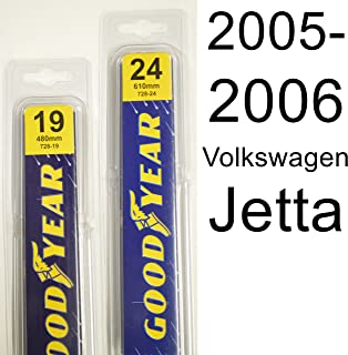 "product image for Volkswagen Jetta (2005-2006) Wiper Blade Kit - Set Includes 24"" (Driver Side), 19"" (Passenger Side) (2 Blades Total)"