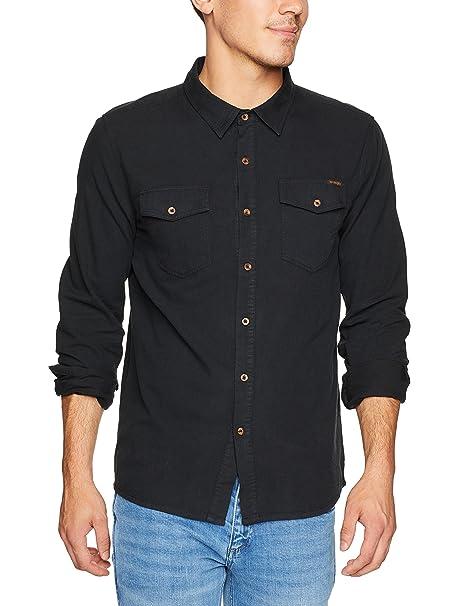 e0a48c1a36a2a Wrangler Men s Platoon Long Sleeve Shirt