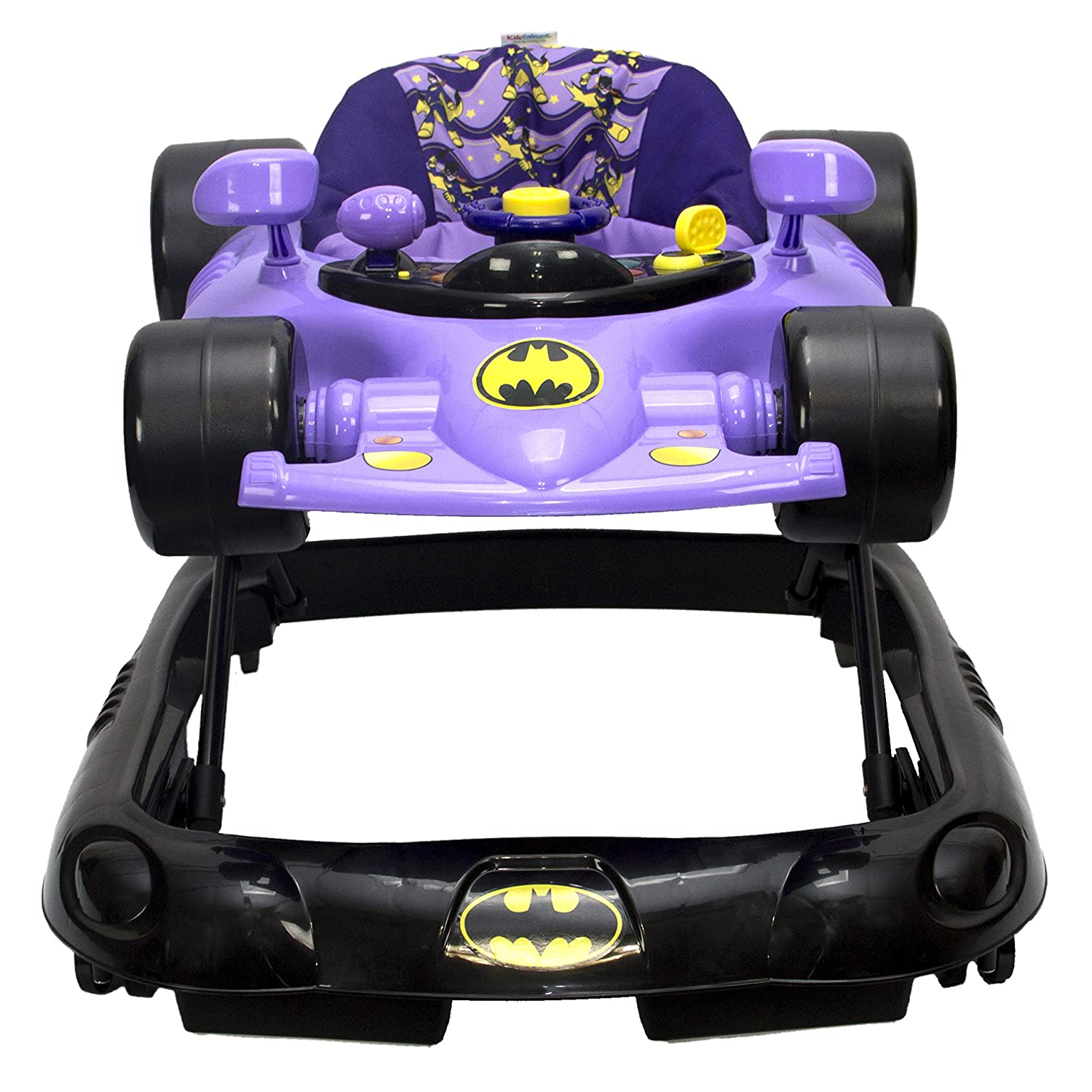 Amazon com wb kidsembrace baby batgirl activity walker car with music and lights baby