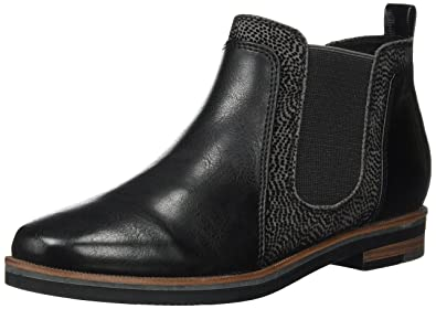 marco tozzi leather chelsea boot