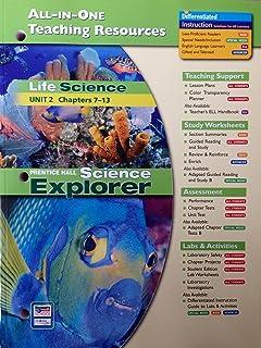 Prentice hall science explorer-life science: interactive textbook.
