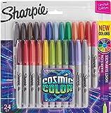 (24-Count, Fine, Cosmic Colors) - Sharpie Cosmic Colour Fine Point Markers 24/Pkg