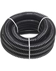 Meister Tubo Multiuso – per irrigazione e drenaggio – Adatto per Pompe, impianti di filtraggio e aspirazione – Flessibile & Antipiega/Tubo per laghetto/Tubo a Spirale