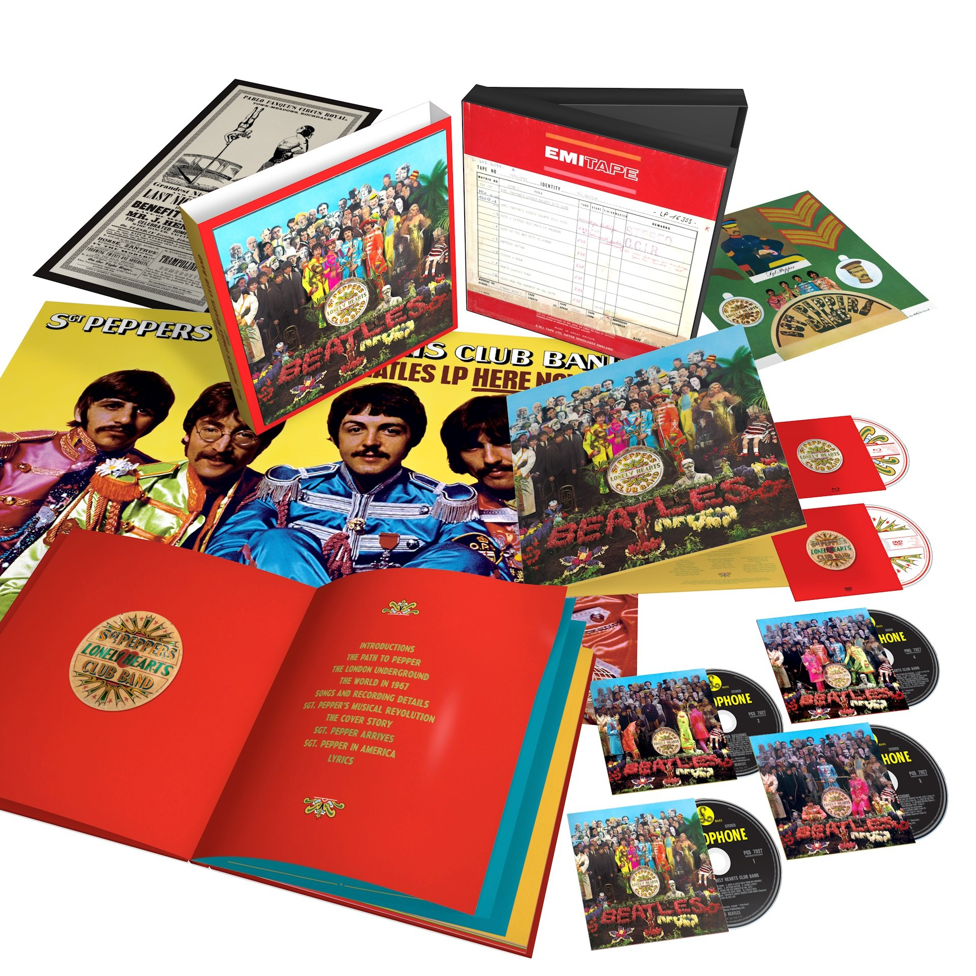 Sgt. Pepper's Lonely Hearts Club Band [4 CD/DVD/Blu-ray Combo][Super Deluxe Ed by Capitol