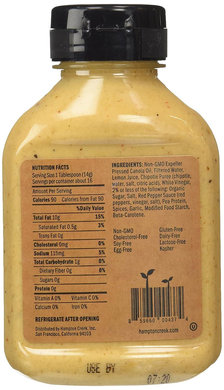 amazon com hampton creek just mayo chipotle gluten free egg
