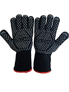 Amazon.com : Blue Hawk Leather Fireplace Gloves : Patio, Lawn & Garden