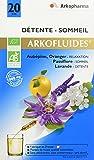Arkopharma Agriculture Bio Détente Extrait Fluides Plantes Aubépine/Passiflore/Oranger/Lavande 20 Ampoules 15 ml