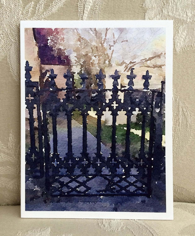 LowCountryNoteCards Gates of Charleston #3