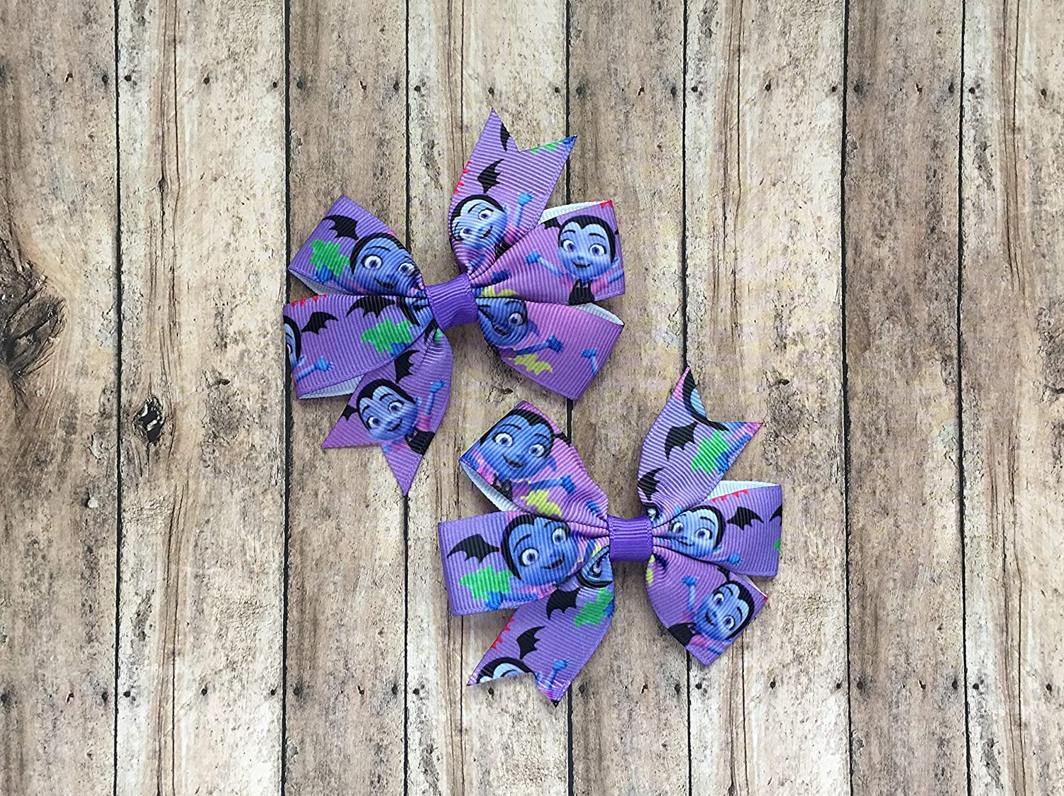 Vamperina Inspired Hair Bows (2) by Inspired Bows