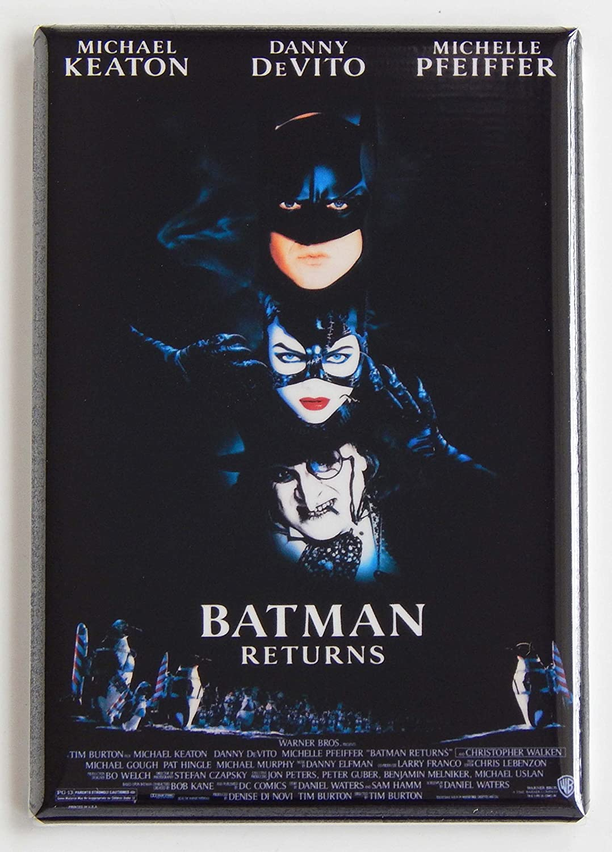 Batman Returns Movie Poster Fridge Magnet (2 x 3 inches)