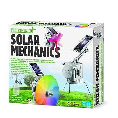 4M-6-In-1 Super Solar Mechanics Ingenieria (00-03401): Juguetes y juegos