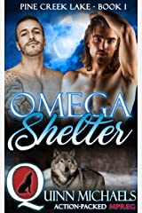MPREG | Omega Shelter (Pine Creek Lake Den (Alpha Omega M/M Gay Mpreg Romance) Book 1) Kindle Edition