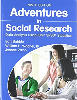 Amazon adventures in social research data analysis using ibm bundle babbie adventures in social research 9e sage ibm spss statistics fandeluxe Choice Image