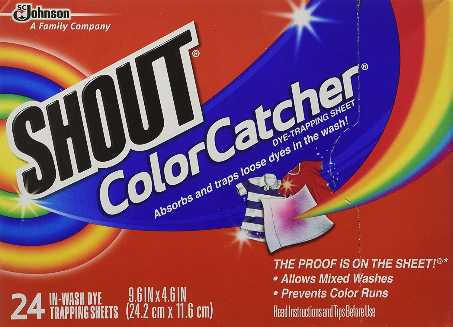Colour catcher sheets - Amazon Com Shout Color Catcher Dye Trapping In Wash Cloths 24 Ea Health Personal Care