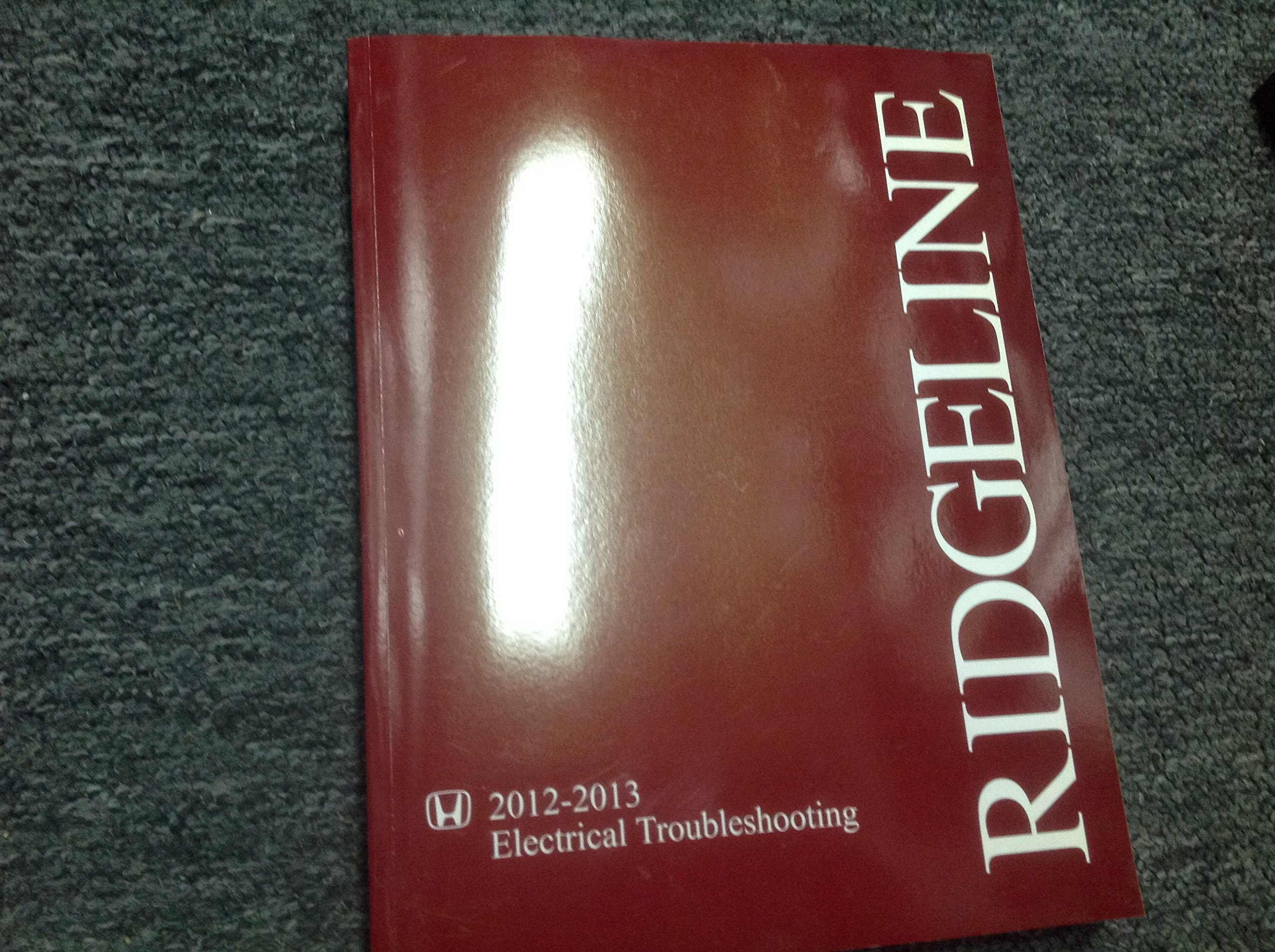 2012 2013 honda ridgeline electrical troubleshooting wiring diagram manual  oem paperback – 2013