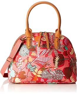 Damen Boston Bag Henkeltasche, Pink (Pink Flamingo), 16x27x36 cm Oilily