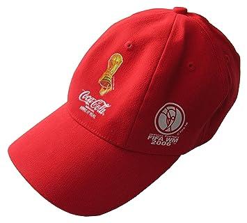 COCA COLA Cap Cappy Mütze Baseballcap Rot EUR 3,99