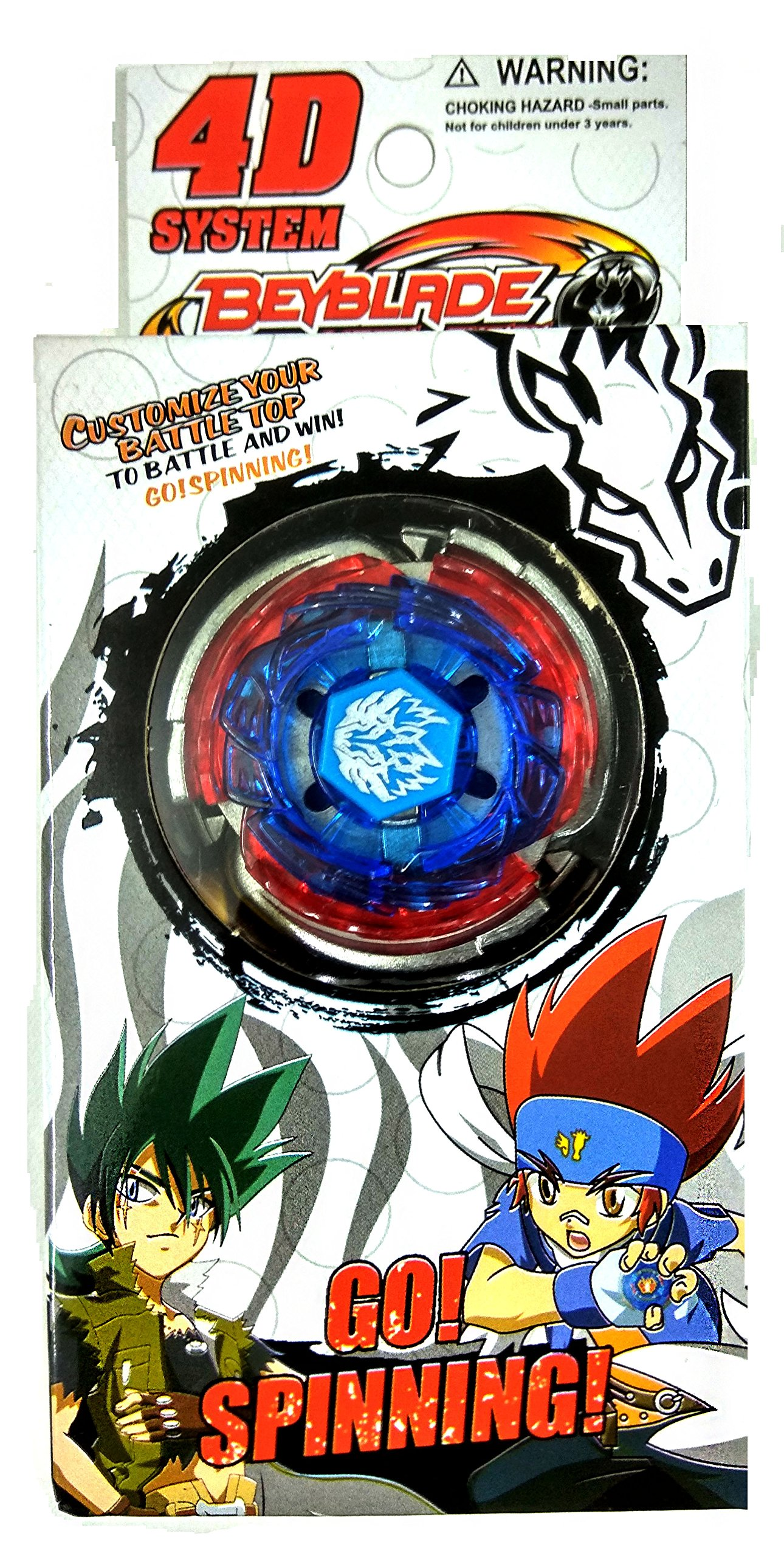 Beyblade Burst 4D System Single Bey Playset Character Pegasus (Multicolour) product image