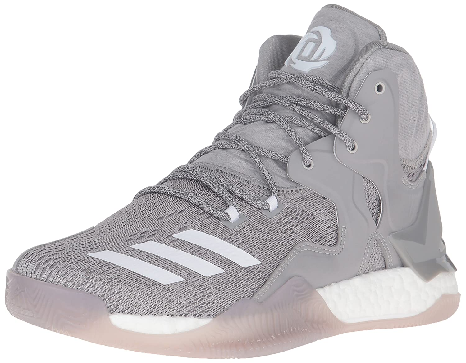 New Adidas D Rose 7 Boost Mens Basketball Shoes White Red