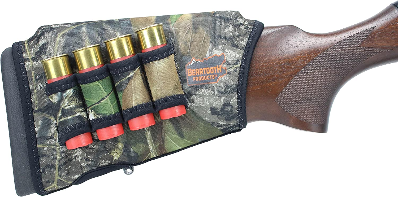 Beartooth Comb Raising Kit 2.0 - Premium Neoprene Gun Stock Cover + (5) Hi-Density Foam Inserts - Shotgun Model - Made in USA 91z2B-2BQT10L